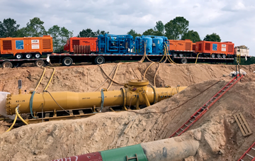 Pipeline Construction Compressors
